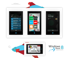 Windows Phone 8 Concept by andreascy
