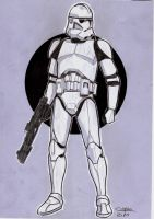 Clone trooper 1 by jorgecopo