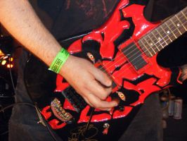 Darth Maul Guitar by maulsballs