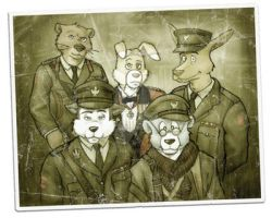 Blackadder Goes Forth - Zoo Ed by LycanDID