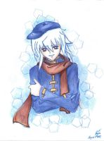 YGO Winter Ryou Bakura by HuiHua