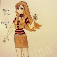 Maria Cross (OC) by VMDrawing