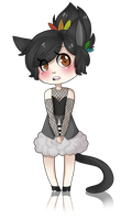 AT: Little catgirl by Thoughtful-Stargazer