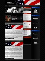 Team USA Gaming Website by zblowfish