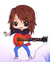 Me as a chibi by ClaireySmiley