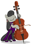 Octavia's new cello by A4R91N