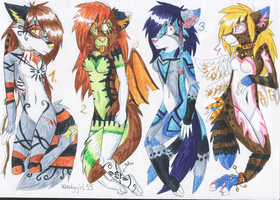 Color adoptablesss 34 by CandyGirl55