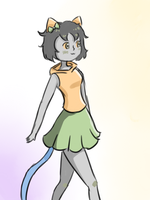 Cutestuck!Nepeta design by ForeverMuffin