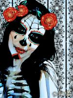 Sugar Skull I by silcuper