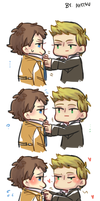 [SPN] destiel by Ahtsu