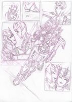 Transformers Prime comic page 2 WIP by Star10