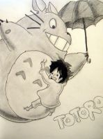 Totoro by OiToy00