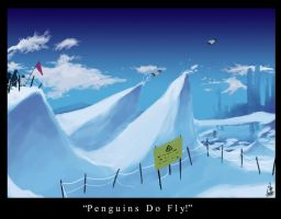 Penguins Do Fly by jiwo