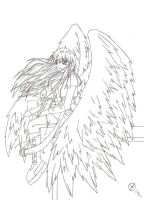 wings..partII lineart finished by bygon