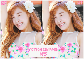 Action sharpen #5 by BHottest