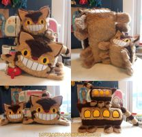 Catbus Loaves by loveandasandwich