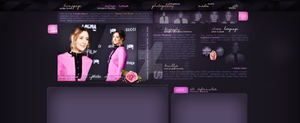 Ordered layout with Saoirse Una Ronan by redesignbea