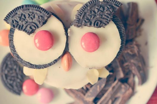 Cupcake-owl by Lodchen-Photography
