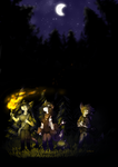 Together Into the Night by HermiTheHusky