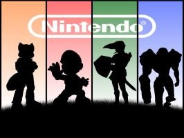 Nintendo Superstars by mincus38