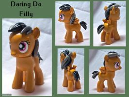 Daring Do Filly Custom Toy by CadmiumCrab