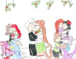 Mistletoe Couples by Jose-Ramiro