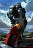 Full Metal Alchemist- Elric Brothers. by Will2Link