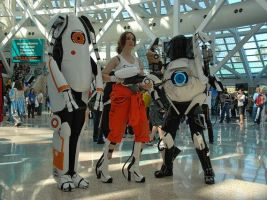 Portal 2 Cosplay by Allmypower