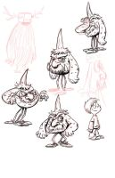 Mr Scarechild warmups by SteveLeCouilliard