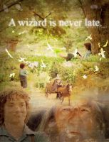 A wizard is never late. by MissWeasleyJB