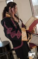 Fire Emblem Robin cosplay - Reviewing my strategy by Nafuri-chan