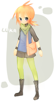 .:Redesign : Luka:. by InkHeartPaw