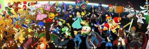 Super Smash Brothers, Forever and Ever by DavidGongora
