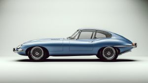 Jaguar XKE (E-type) by Laffonte