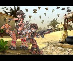 Super Metal Slug G.I. Plus  X by Giosuke