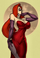 .: Jessica Rabbit :. by Teekila