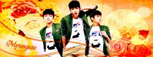 Myungsoo Infinite Facebook Cover by ParkYuri666