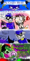 The sly cooper meme by NekoKittyKitsune
