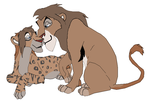 Father and son adopts by digimonfrontier77