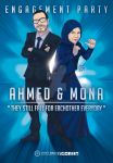 ahmed and mona engagement poster by SherifNagy