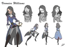 Veronica Williams Character Study by Violet1202