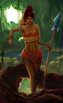 League of Legends - Nidalee by dczhang