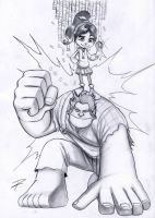 WRECK IT RALPH tribute by RUGGINE-610
