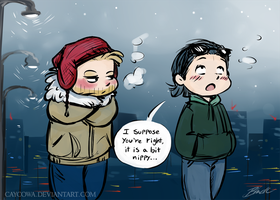 Thorki - Brisk walk by caycowa