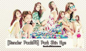 [Render Pack#5] Park Shin Hye by frozenbee99