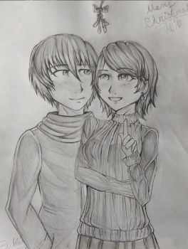 SS for YukoIsBadMedicine - Victor and Janae by ChibiRainbowStarr