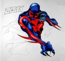 Spider-Man 2099 by Tophoid
