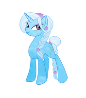 Crystal Trixie by ElectricHalo