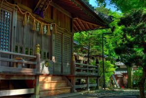 Kashimori Shrine by chinotenshi