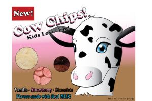 Cow Chips Package Design by ellana